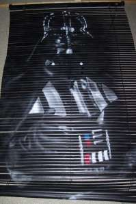 Darth vador mini blind