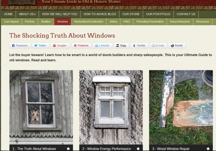 Truth about windows